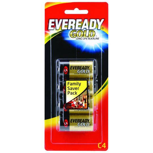 Eveready Gold Type C Batteries