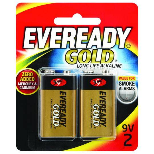 Eveready Gold 9v Batteries