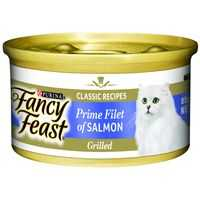 Fancy Feast Adult Cat Food Grilled Prime Salmon Fillet