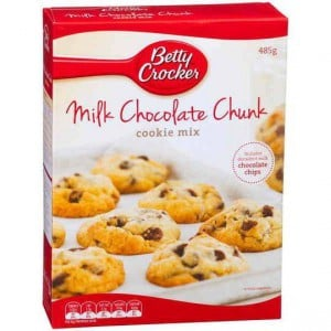 Betty Crocker Cookie Mix Milk Chocolate Chunk