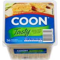 Coon Natural Tasty Cheese Slices