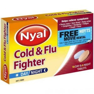 Nyal Cold & Flu Fighter Day & Night Tablets