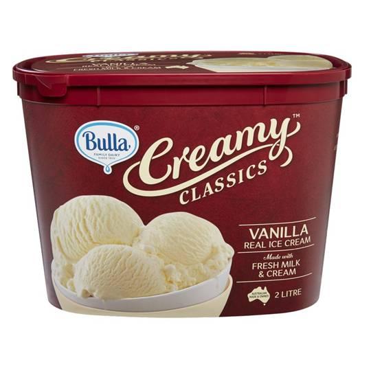 Bulla Creamy Classics Ice Cream Vanilla