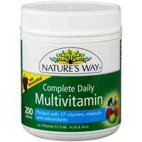 Nature's Way Complete Daily Multivitamin Tablets