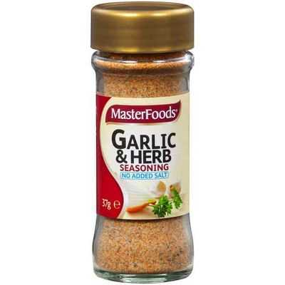 Masterfoods Garlic & Herb Blend No Added Salt