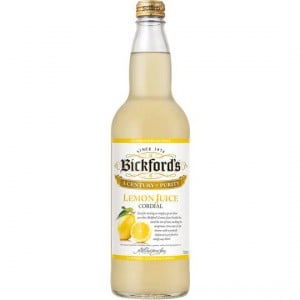 Bickfords Lemon Cordial