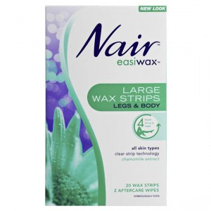 Nair Hair Removal Wax Easiwax Large Strips