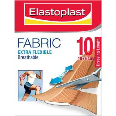 Elastoplast Fabric Strips Dressing Fabric