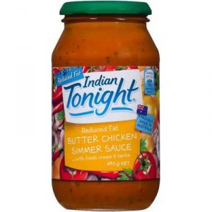Indian Tonight Simmer Sauce Butter Chicken