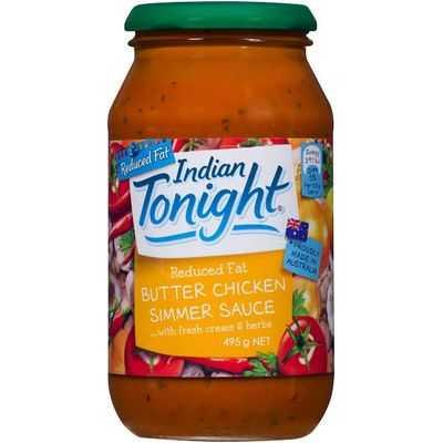 Indian Tonight Simmer Sauce Butter Chicken