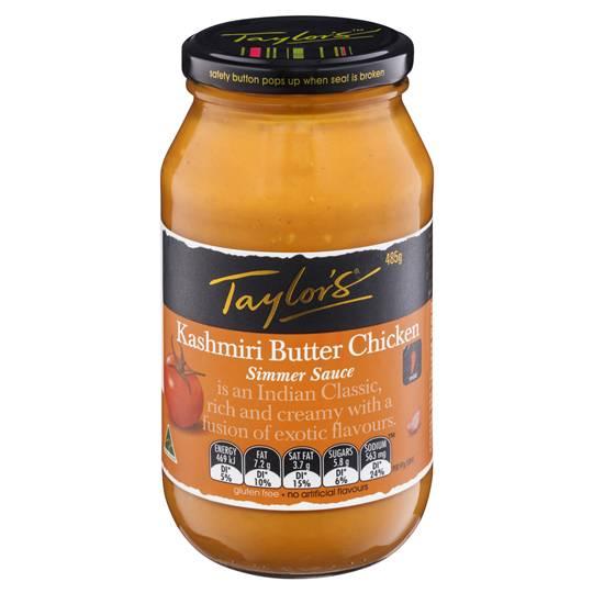 Taylors Simmer Sauce Kasmiri Butter Chicken