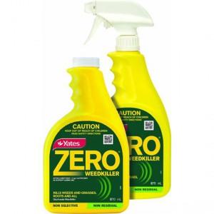 Yates Zero Garden Weed Killer Spray & Refill