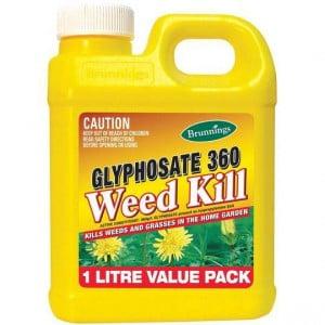 Brunnings Glyphosate 100 Garden Weed Killer