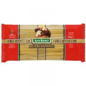 San Remo Fettuccine Curly Pasta No 80