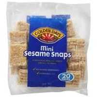 Golden Days Bars Snaps Sesame Mini