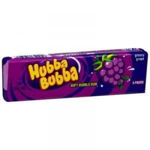 Wrigley's Hubba Bubba Gum Tape Grape