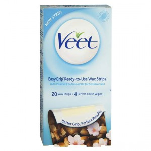 Veet Sensitive Hair Removal Wax Cold Strips