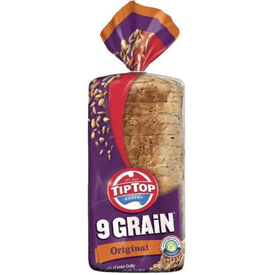 june11 reviewed 9 Grain Tip Top Bread Original