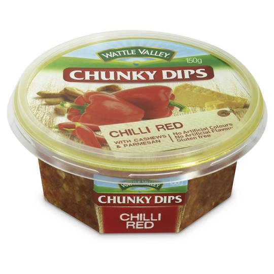 Wattle Valley Chunky Dip Red Chilli Cashew & Parmesan