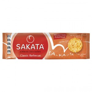 Sakata Rice Crackers Classic Bbq