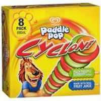 Streets Paddle Pop Ice Cream Cyclone