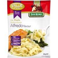 San Remo La Pasta Alfredo Single Snack