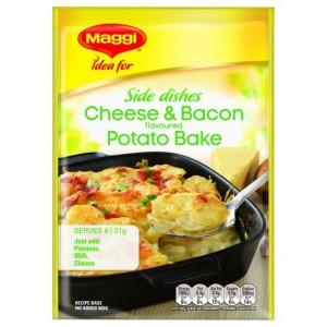Maggi Cheese & Bacon Potato Bake Recipe Base