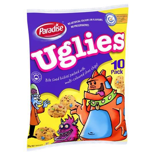 Paradise Kidz Kids Uglies Snack Pack 10pk