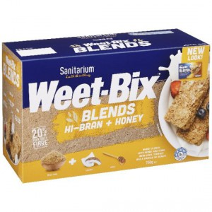 Sanitarium Weet-bix Hi-bran & Honey