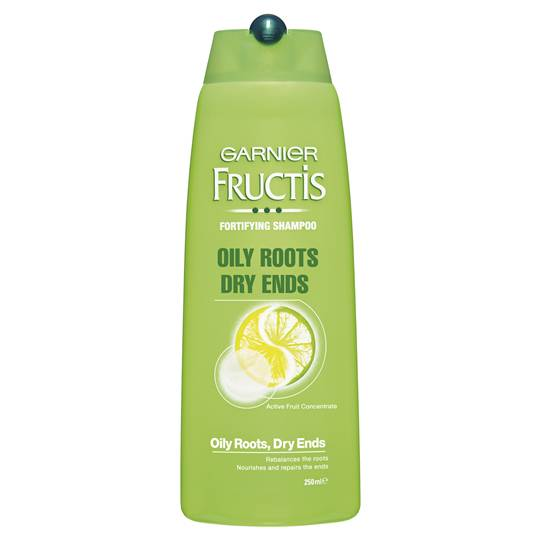 Garnier Fructis Shampoo Oily Roots Dry Ends