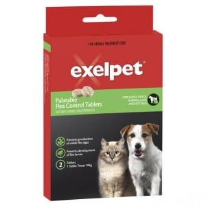 Exelpet Flea Control Treatment Small Dogs Cats & Kittens