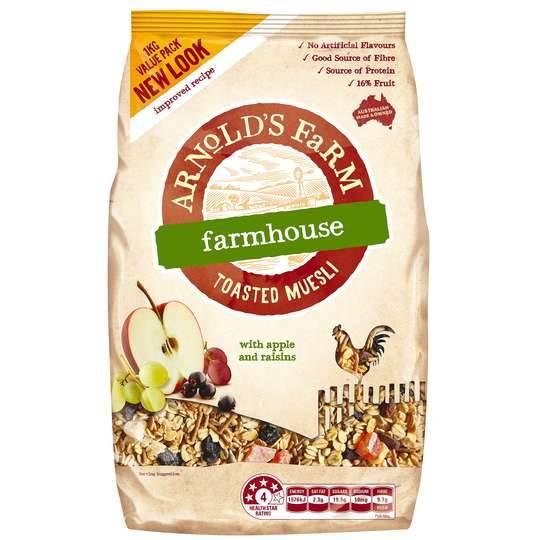 Arnolds Farm Toasted Farmhouse Muesli