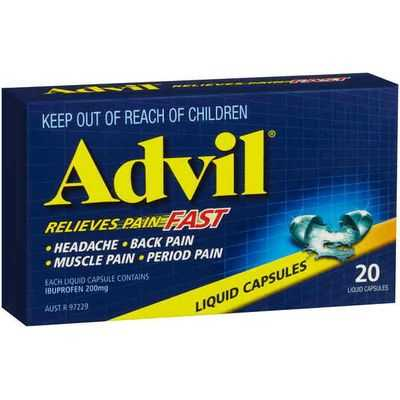 Advil Capsules Liquid