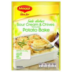 Maggi Sour Cream And Chives Potato Bake Recipe Base