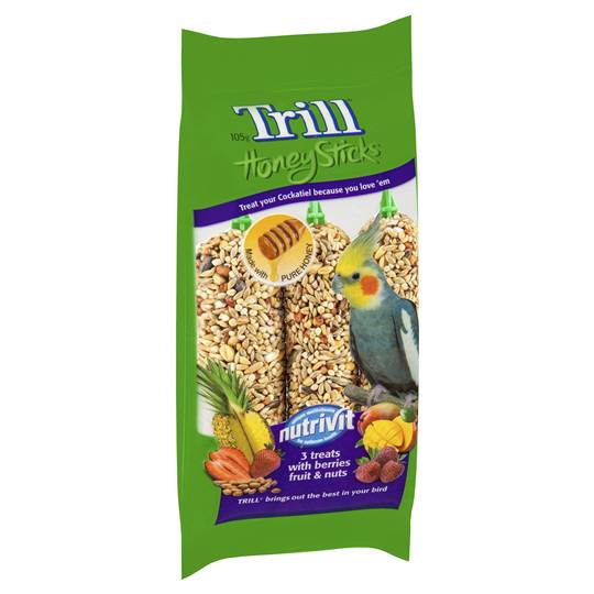 Trill Bird Honey Stick Variety Cockatiels