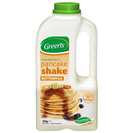 Greens Pancake Mix Buttermilk Shake