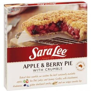 Sara Lee Crumble Apple & Berry