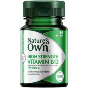 Nature's Own High Strength B12 1000mcg Tablets