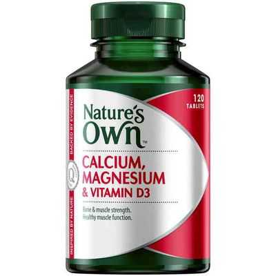 Nature's Own Calcium Magnesium & Vitamin D3 Tablets