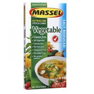 Massel Ultracubes Salt Reduced Vegetable