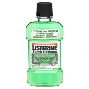 Listerine Teeth Defence Mouthwash Antiseptic With Fluoride