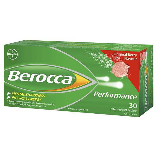 Berocca Performance Original Tablets