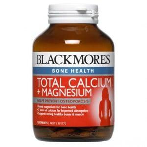 Blackmores Total Calcium + Magnesium + D3 Tablets Value Pack