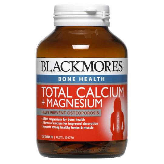 Blackmores Total Calcium + Magnesium + D3 Tablets Value Pack