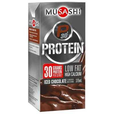 Musashi P30 Protein Chocolate Malt Low Fat