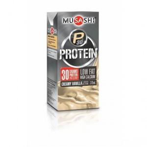 Musashi P30 Protein Vanilla Low Fat