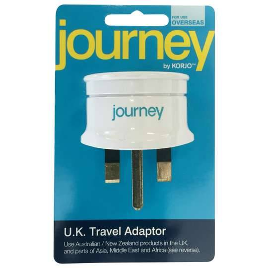 Korjo Journey Britain Adaptor