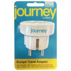 Korjo Journey Europe Adaptor