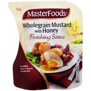 Masterfoods Finishing Sauce Wholegrain Mustard With Honey