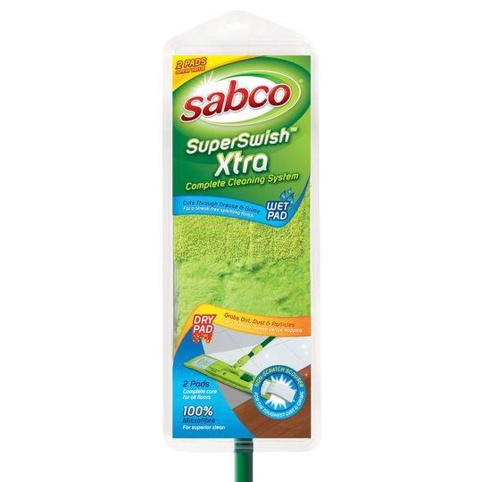 Sabco Superswish Xtra Microfibre Flat Mop
